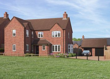 Thumbnail 5 bed detached house for sale in Bransford Road, Rushwick