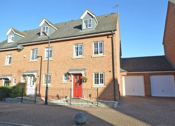 Thumbnail 3 bed end terrace house for sale in Berrybanks, Bilton, Rugby, Warwickshire