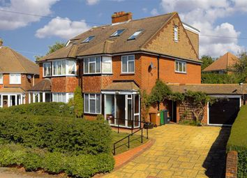 Thumbnail 4 bed semi-detached house for sale in Chetwode Drive, Epsom, Surrey