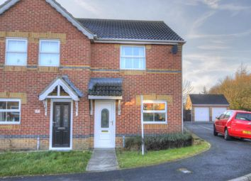 Thumbnail 2 bed semi-detached house to rent in Bluebell Close, Leadgate, Consett