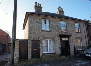 Thumbnail 2 bedroom semi-detached house for sale in Market Place, Kenninghall, Norwich