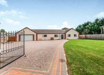 Thumbnail 4 bed detached bungalow for sale in Ryefield Lane, Holbeach Fen, Spalding
