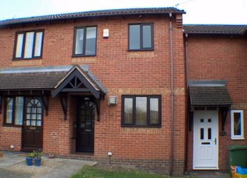 Thumbnail 2 bed town house to rent in Wicksteed Close, Belper, Derbyshire