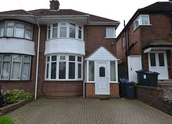 Thumbnail 3 bedroom semi-detached house for sale in Dockar Road, Northfield, Birmingham