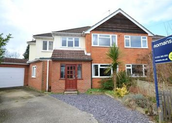 Thumbnail 4 bed semi-detached house for sale in Nursery Close, Fleet, Hampshire
