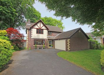Thumbnail 4 bed detached house for sale in Woodlea Chase, Darwen