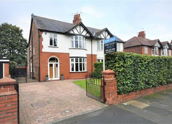 Thumbnail 4 bed semi-detached house for sale in Parsonage Road, Heaton Moor, Stockport, Cheshire