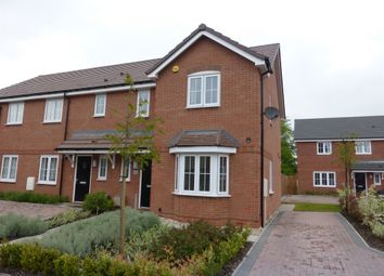 Thumbnail 3 bed end terrace house for sale in Foxton Close, Tamworth