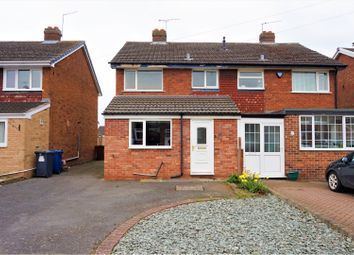 Thumbnail 3 bed semi-detached house for sale in Linden Road, Barton Under Needwood, Burton-On-Trent