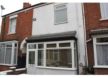Thumbnail 3 bed terraced house to rent in Leura Grove, Tyne Street, Hull