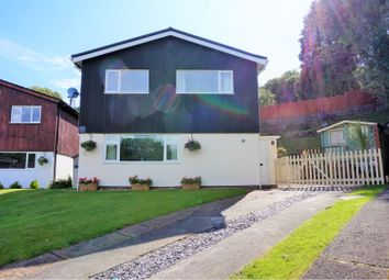 Thumbnail 4 bed detached house for sale in Ffos Yr Hebog, The Rise