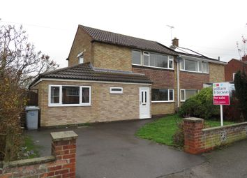 Thumbnail 3 bed semi-detached house for sale in Browning Road, Balderton, Newark