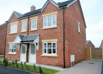 Thumbnail 2 bed semi-detached house for sale in Harvest Park, Silloth, Wigton