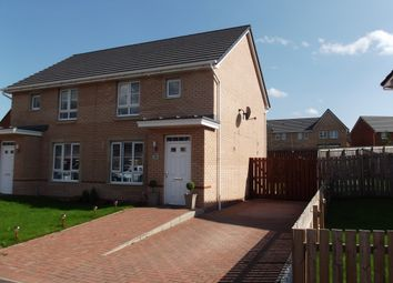 Thumbnail 2 bed semi-detached house for sale in Heatherbell Road, Coatbridge