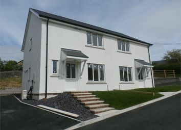 Thumbnail 3 bed semi-detached house for sale in Lledrod, Aberystwyth