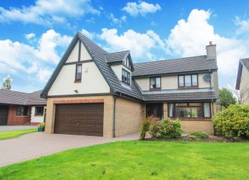 Thumbnail 4 bed detached house for sale in Troon Gardens, Cumbernauld
