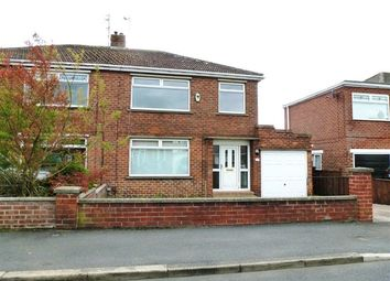 Thumbnail 3 bed semi-detached house for sale in Bedale Grove, Stockton-On-Tees