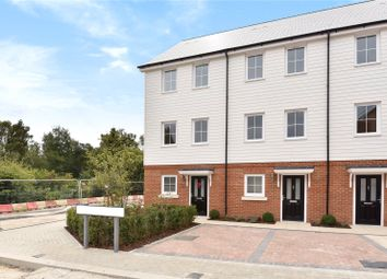 Thumbnail 3 bed end terrace house to rent in Woodland Road, Dunton Green, Sevenoaks, Kent