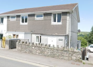 Thumbnail 3 bed semi-detached house to rent in Fore Street, St. Cleer, Liskeard, Cornwall