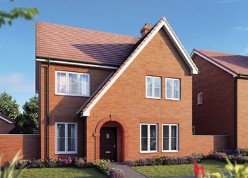 "Thumbnail 4 bed property for sale in ""The Aspen"" at Curbridge, Botley, Southampton"