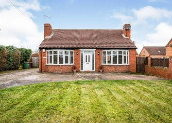 Thumbnail 3 bed bungalow for sale in Rotherham Road, Clowne, Chesterfield, Derbyshire