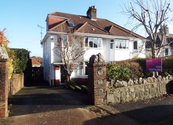 Thumbnail 4 bed semi-detached house for sale in 53 Cherry Grove, Derwen Fawr, Swansea
