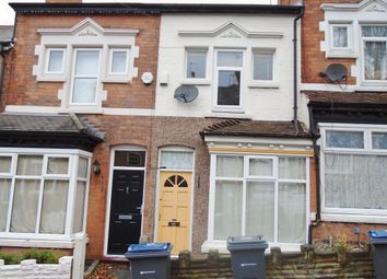 Thumbnail 3 bed terraced house to rent in Rosary Road, Erdington, Birmingham