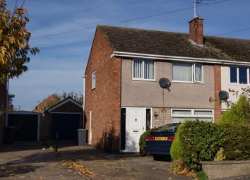 Thumbnail 3 bed semi-detached house to rent in Malton Road, North Hykeham, Lincoln
