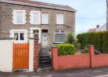 Thumbnail 2 bed end terrace house for sale in Cwmaman Road, Godreaman, Aberdare