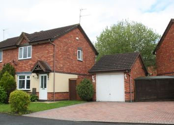 Thumbnail 3 bed semi-detached house to rent in Terrys Close, Redditch