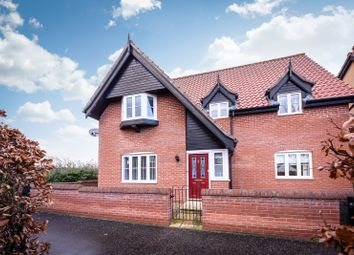 Thumbnail 5 bed detached house for sale in Devlin Drive, Poringland