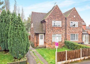 Thumbnail 3 bed semi-detached house for sale in Brayton Crescent, Bulwell, Nottingham
