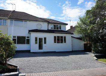 Thumbnail 4 bed semi-detached house for sale in Lutley Avenue, Halesowen