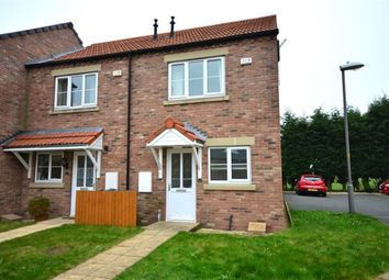 Thumbnail 2 bed town house to rent in Badgers Way, Cliffe, Selby