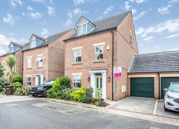 Thumbnail 4 bed detached house for sale in The Hedgerows, Cliffe, Selby