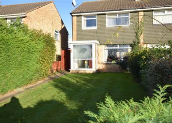 Thumbnail 3 bed semi-detached house for sale in Calveley Close, Prenton, Wirral