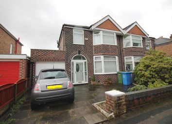 Thumbnail 3 bed semi-detached house to rent in Salisbury Road, Urmston, Manchester