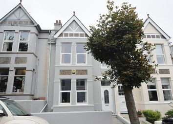 Thumbnail 4 bed terraced house for sale in Bickham Park Road, Plymouth