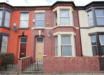 Thumbnail 3 bedroom terraced house for sale in Cecil Street, Wavertree, Liverpool