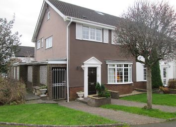 Thumbnail 4 bedroom semi-detached house for sale in Eastlands Park, Bishopston, Swansea, City And County Of Swansea.