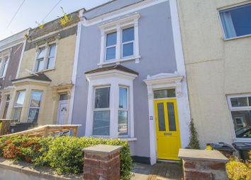Thumbnail 3 bed terraced house for sale in Heath Street, Eastville, Bristol
