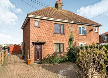 Thumbnail 3 bedroom semi-detached house for sale in Hythe Road, Methwold, Thetford