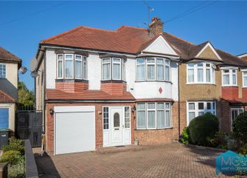 Thumbnail 4 bed semi-detached house for sale in Green Moor Link, Winchmore Hill, London