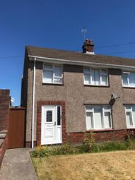 Thumbnail 3 bed semi-detached house to rent in Heol Valentine, Clydach, Swansea