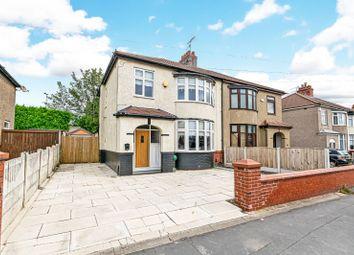 3 bed semi-detached house for sale in Warrington Road, Prescot, Merseyside L35