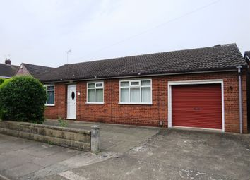 Thumbnail 3 bed detached bungalow for sale in Kenilworth Drive, Lincoln