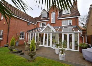 Thumbnail 5 bed detached house for sale in Cleveland Way, Great Ashby, Stevenage, Herts