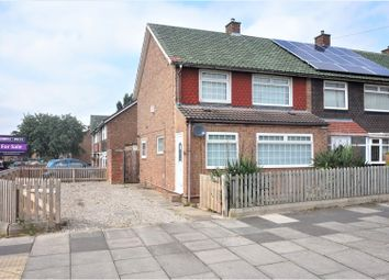 Thumbnail 3 bed terraced house for sale in Broughton Avenue, Middlesbrough