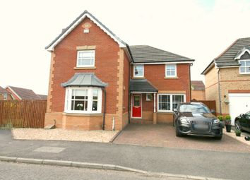 Thumbnail 4 bed detached house for sale in Glenhead Drive, Motherwell