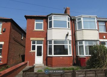 Thumbnail 3 bed end terrace house to rent in Worcester Road, Blackpool